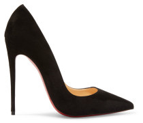 So Kate 120 Pumps Aus Veloursleder
