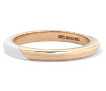 Memphis Candy Ring aus 14 Karat  mit Emaille