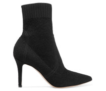 85 Sock Boots aus Stretch-frottee