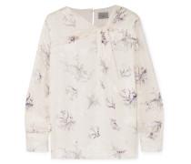 Floral Bedruckte Bluse aus Georgette
