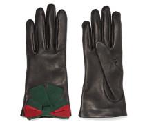 Handschuhe aus Strukturiertem Leder
