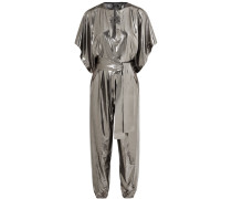 Rectangle Jumpsuit aus Stretch-lamé