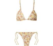 Aira Triangel-bikini mit Blumenprint