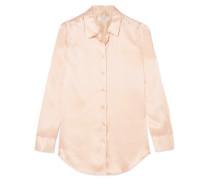 Essential Hemd aus Vorgewaschenem Seidensatin