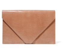 Envelope Clutch aus Eidechsenleder