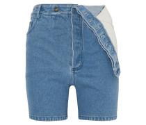 Asymmetrische Jeansshorts
