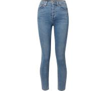 Originals High-rise Ankle Crop Ultra Stretch Skinny Jeans