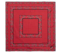 Nellieburg Schal aus Bedrucktem Seiden-twill