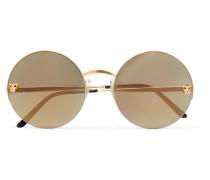 Panthère Verspiegelte Sonnenbrille