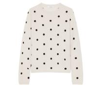 Pullover aus einer Seiden-kaschmirmischung