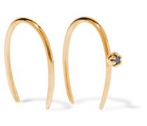 Stone Aura Ohrringe aus 14 Karat  mit Diamanten