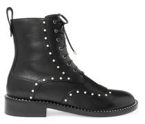 Hannah Ankle Boots aus Leder