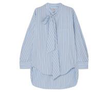 Swing Gestreiftes Hemd aus Baumwollpopeline