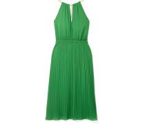 Kleid aus Georgette mit Plissee