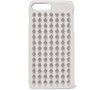 Loubiphone Verzierte Iphone 7 und 8 Plus-hülle aus Strukturiertem Leder
