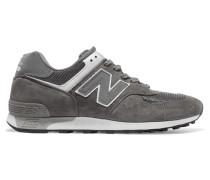 576 Sneakers aus Veloursleder, Mesh und Leder