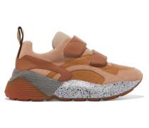 Eclypse Sneakers aus Kunstleder, Velourslederimitat und Neopren