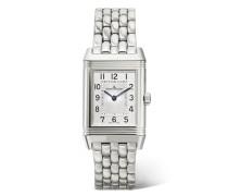 Reverso Classic Small Uhr aus Edelstahl