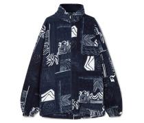 Oversized-jacke aus Fleece
