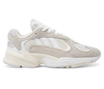 Yung-1 Sneakers aus Leder, Veloursleder und Mesh