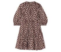 Alha Minikleid aus Baumwoll-voile