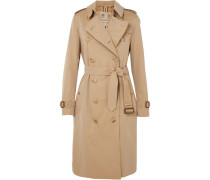 The Kensington Long Trenchcoat aus Baumwollgabardine