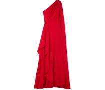 Robe aus Seiden-georgette