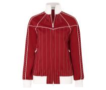 Bestickte Jacke aus Glänzendem Jersey