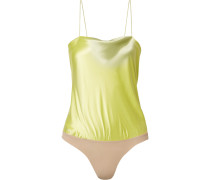 Dean String-body aus Seiden-charmeuse und Stretch-jersey