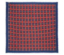 Bedrucktes Tuch aus einer Woll-seidenmischung
