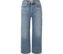 Ren Verkürzte, Hoch Sitzende Jeans