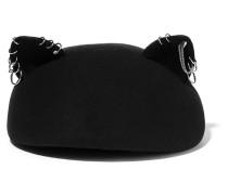 Caterina Verzierter Hut aus Wollfilz