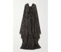 Robe aus Jacquard aus einer Seiden-lurex®-mischung