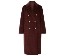 Doppelreihiger Mantel aus Baumwollcord