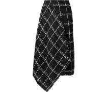 Keaton Midirock aus Tweed aus einer Baumwollmischung