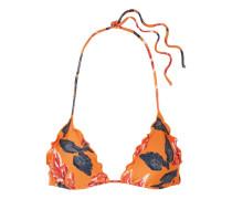 Tulum Bikini-oberteil mit Blumendruck