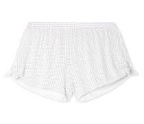 Tropea Pyjama-shorts aus Bedrucktem Stretch-modal-jersey