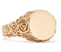 Rosa Ring aus 9 Karat