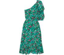 Juliet Schulterfreies Kleid aus Seidensatin