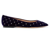 Garavani The Rockstud Flache Schuhe