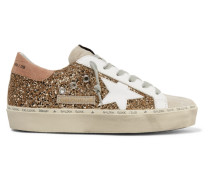Hi Star Sneakers aus Veloursleder und Leder in Distressed-optik