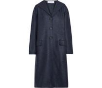 Mantel aus Wollfilz mit Kapuze