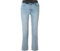 Cult Duo Hoch Sitzende Jeans