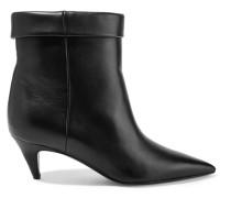 Charlotte Ankle Boots aus Leder