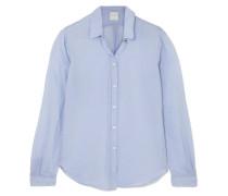 Hemd aus Voile aus einer Baumwoll-seidenmischung
