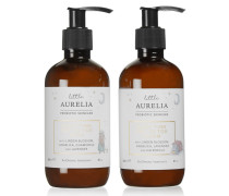 Little Aurelia Sleep Time Top To Toe Wash & Cream, 2 X 240 Ml – Hautpflegeset für Kinder