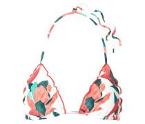 Bluebell Bedrucktes Triangel-bikini-oberteil
