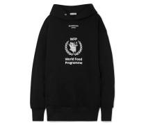 + World Food Programme Oversized-hoodie aus Bedrucktem Jersey aus einer Baumwollmischung