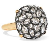 Collection Ring aus 18 Karat  und Sterlingsilber
