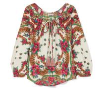 Possad Bluse aus einer Baumwollmischung